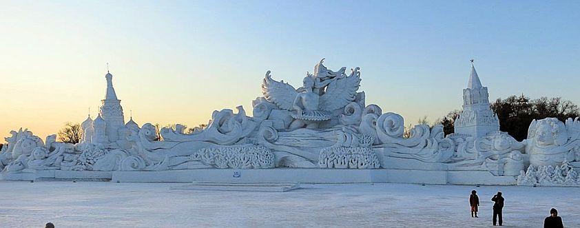 Harbin sculptures de glace