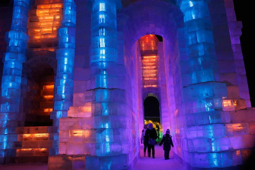 Harbin château de glace