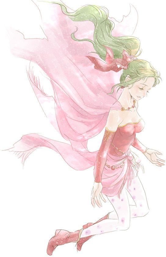 Final Fantasy VI Tina/Terra Fanart by Izumi Toyoda