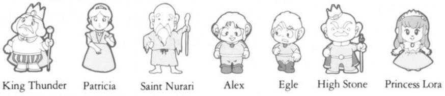 Alex Kid in Miracle World manuel illustration
