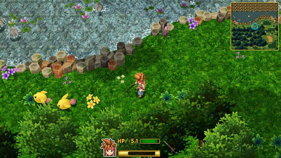 Secret of Mana Steam après Reshade