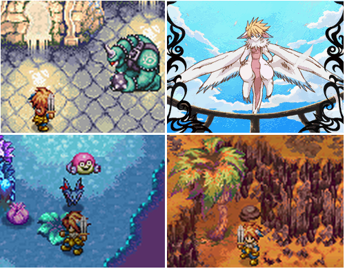Children of Mana écrans