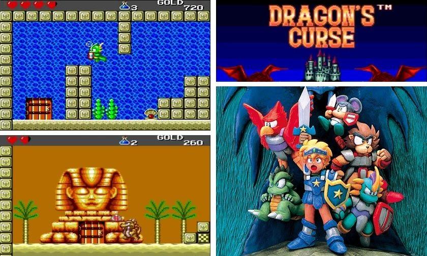 Wonder Boy 4 Dragon's Curse