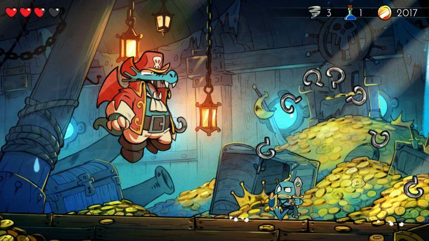 Dragon's Trap remake jeu