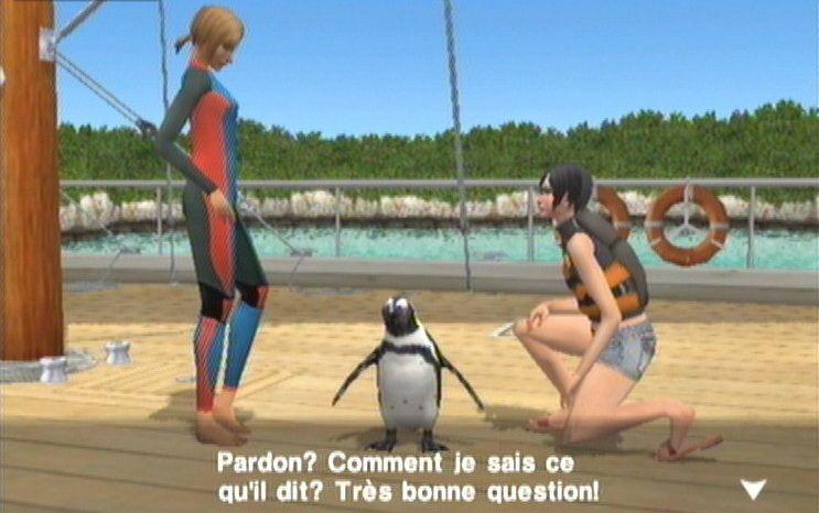 Endless Ocean Wii Français