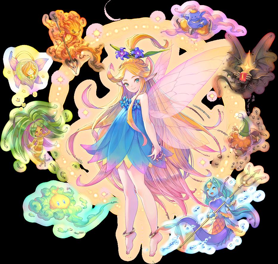 Artwork officiel de la fée