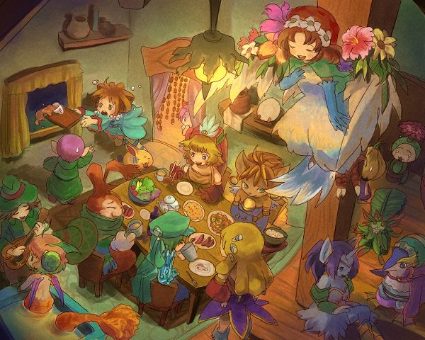Legend of Mana Fan Artwork