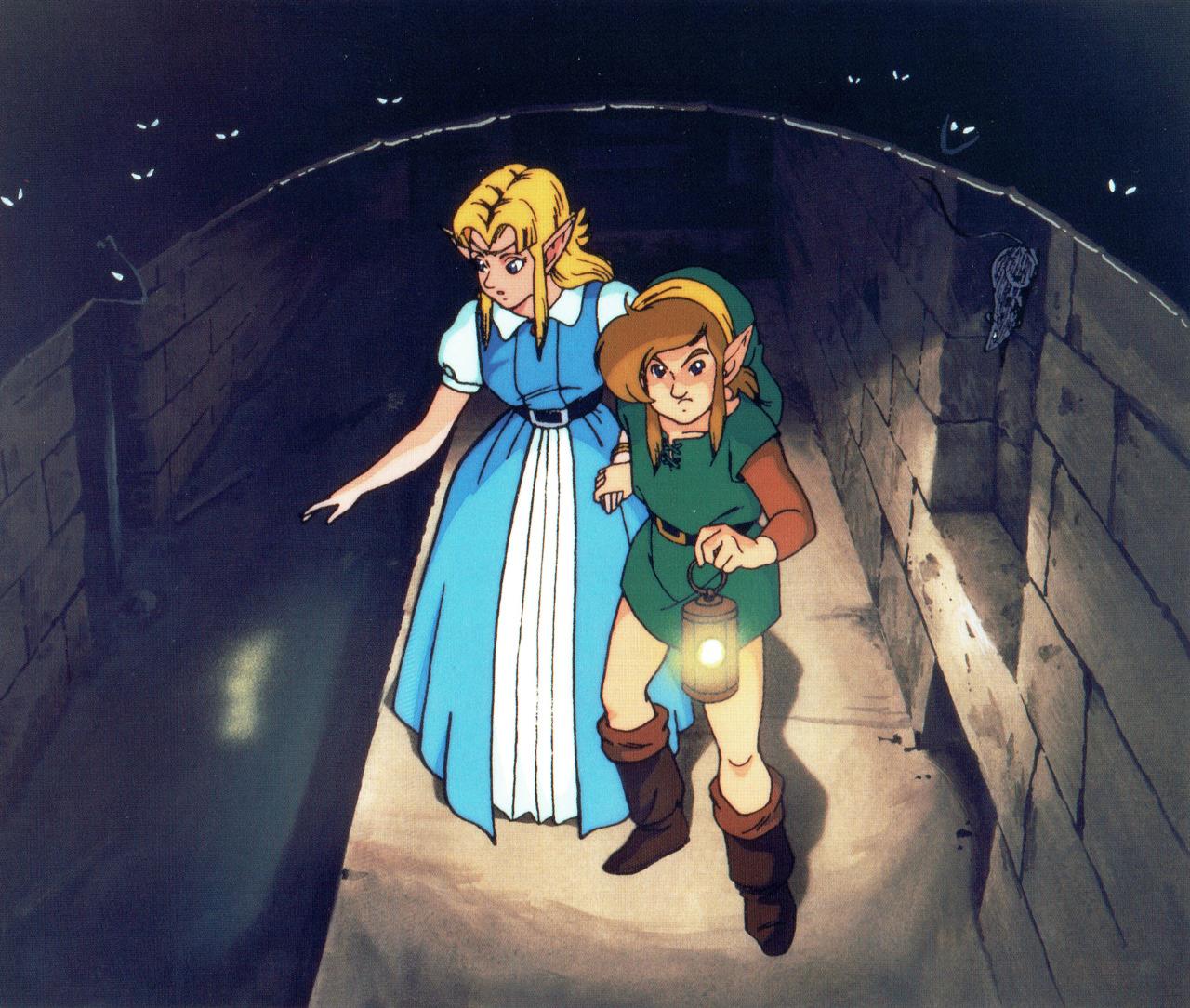 Legend of Zelda A Link to the Past illustration manuel