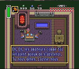 Legend of Zelda A Link to the Past Ecran du jeu