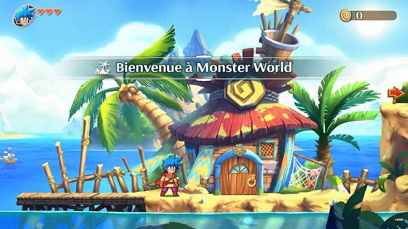 Monster Boy et le Royaume Maudit jeu