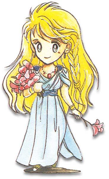 Final Fantasy Gaiden Seiken Densetsu artwork : Fuji