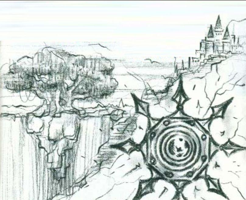 Mystic Quest illustration manuel américain