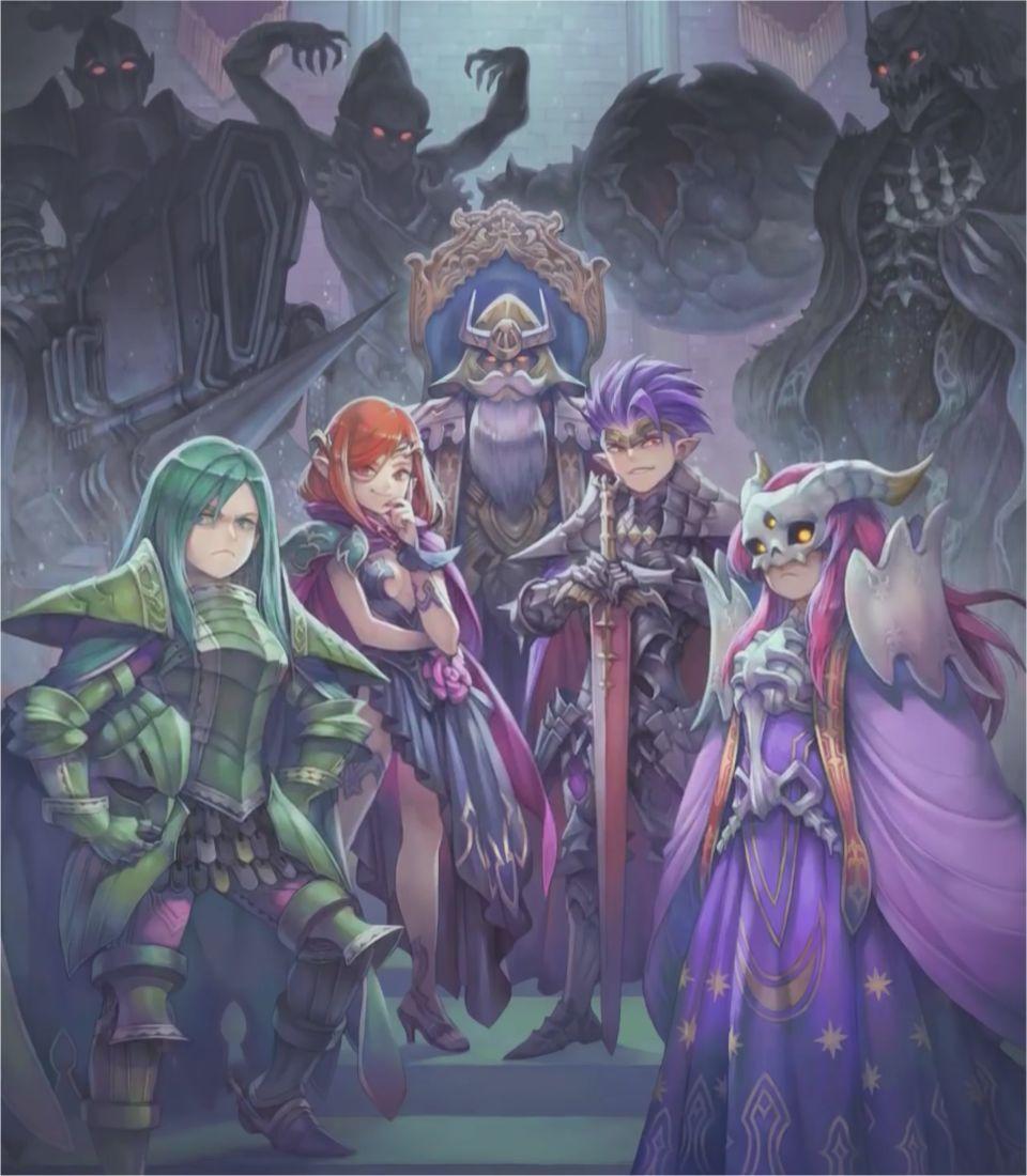 Secret of Mana artwork evils