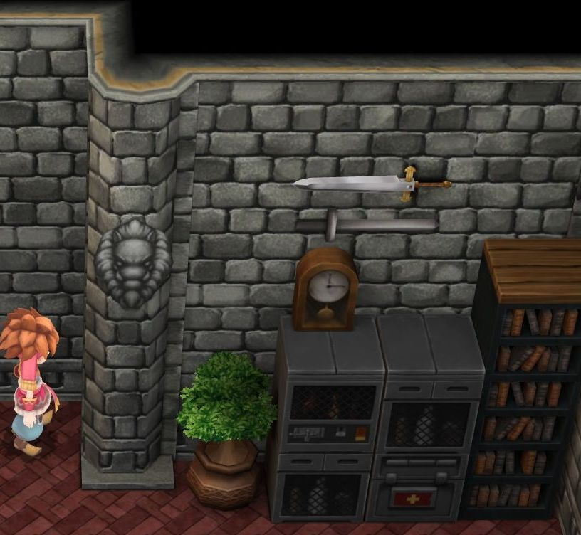 Secret of Mana Brave Blade