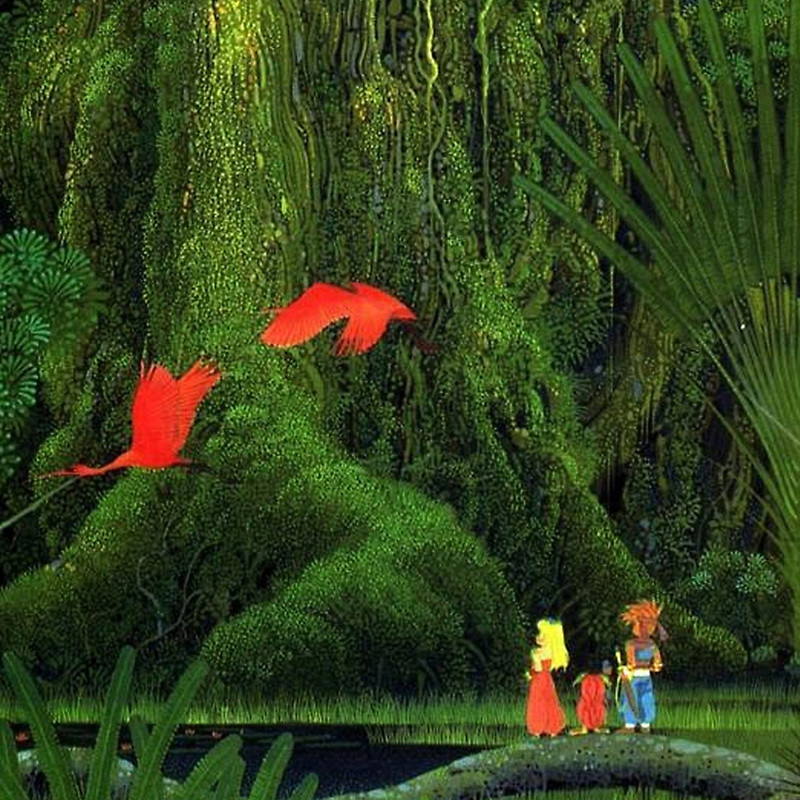 Secret of Mana Flamants roses