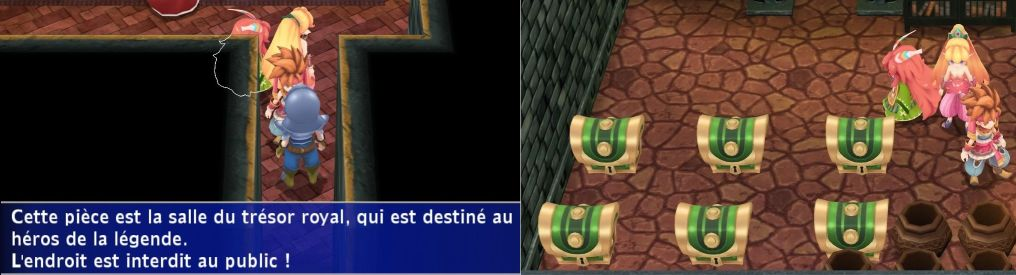 Secret of Mana garde trésors