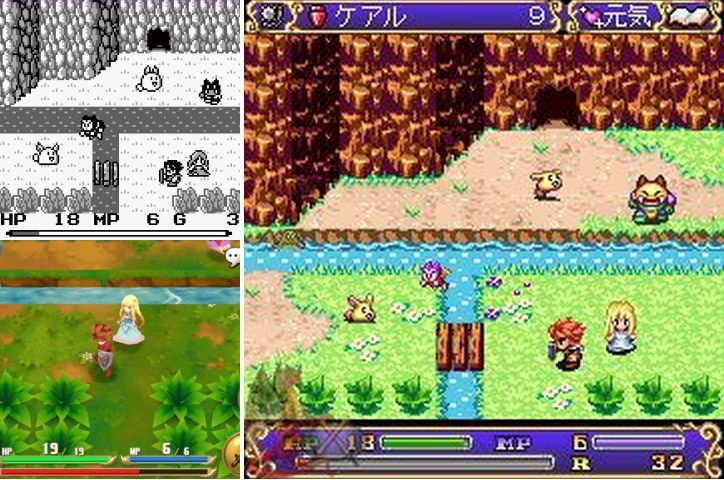 seiken densettu versions overworld
