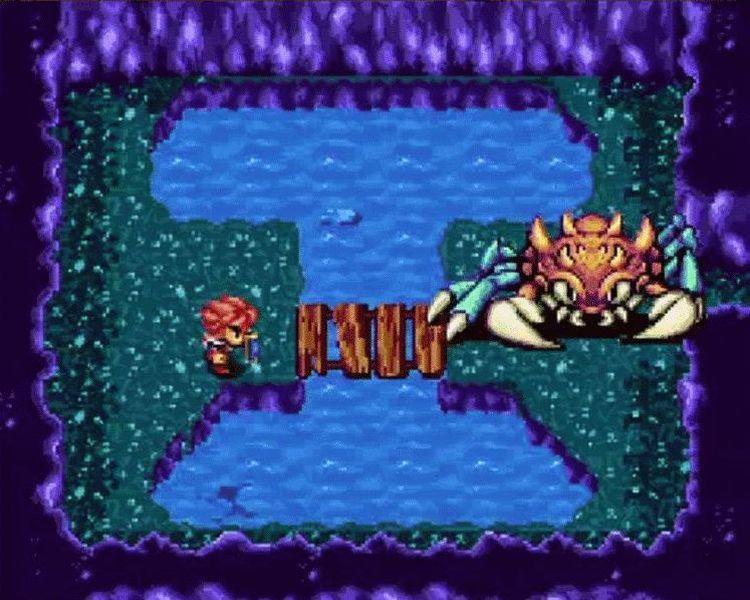 Seiken Densetsu couleur - boss crabe