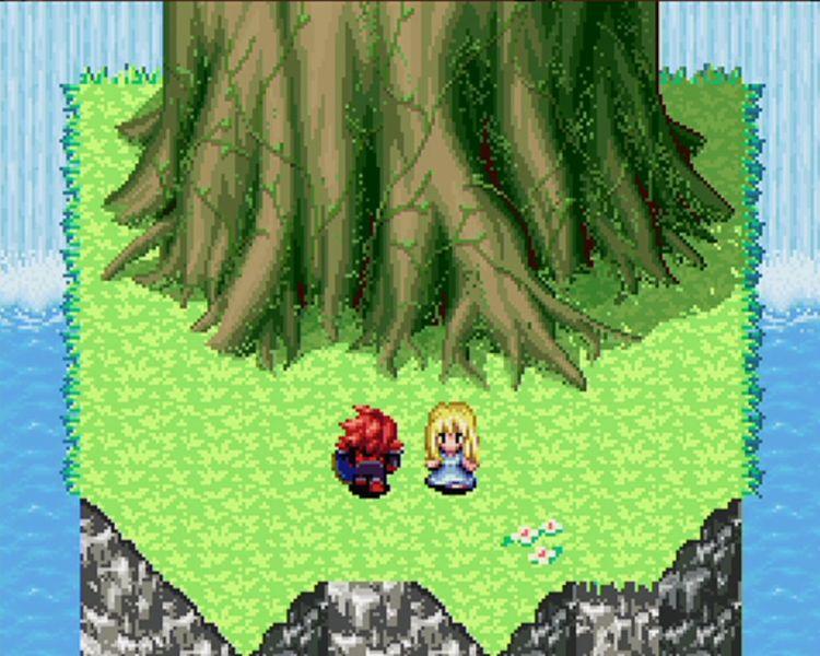 Seiken Densetsu couleur - l'arbre Mana