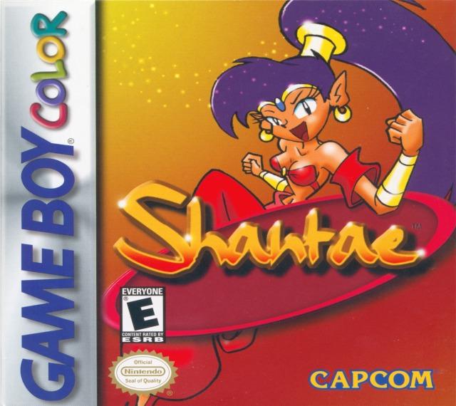 Shantae boite du jeu Game Boy Color