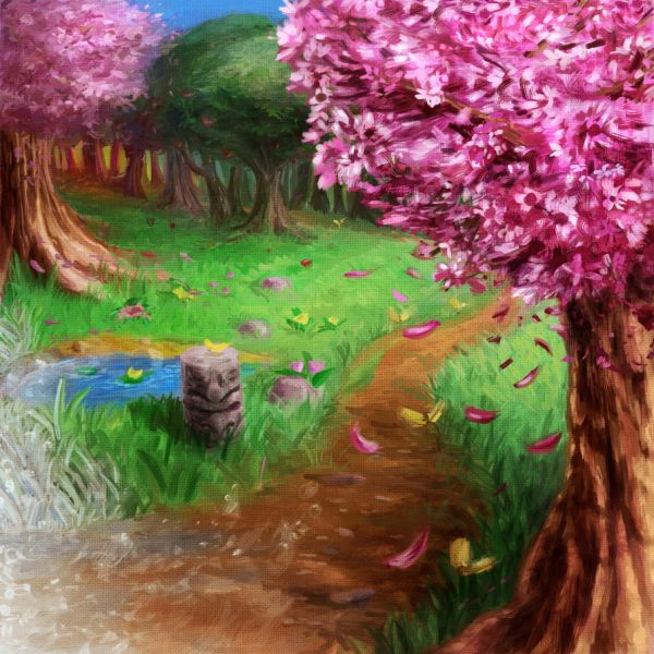 Secret of Mana Les 4 saisons par LightningArts