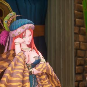 Aperçu du jeu (TGS) - Discussion entre Belladonna et Hawkeye
