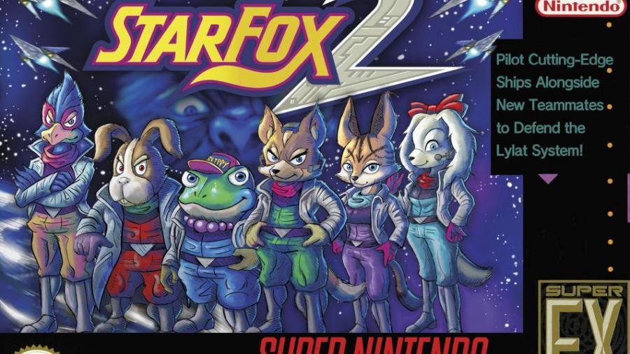 Boite de Star Fox 2