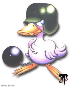 Soldat canard