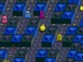 Pac-Mania est une adaptation en 3D isométrique, ici sur Super Nintendo