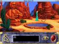 Le désert, lieu central du premier chapitre