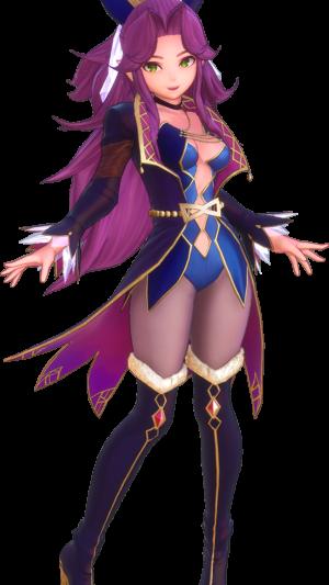 Angela en Maîtresse des runes - classe dark light