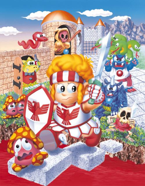 Wonder Boy in Monster World boîte japonaise